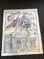 """Grateful Dead Shoreline Amphitheater Colored Concert Poster 18.5""""x15"""""""