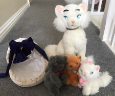 Disney's Aristocats Cat And Kittens Plush Soft Toys Vintage