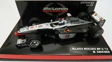 McLaren COLLECTION #25 MP 4/13 Mercedes 1998 M. Hakkinen Minichamps 1:43