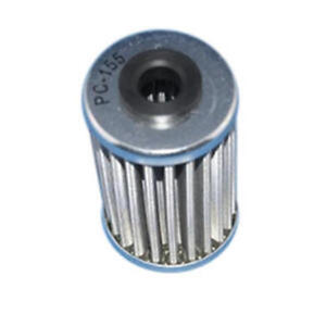 Stainless Steel Drop In Oil Filter PC Racing USA PC155 for Motorcycle Apps.