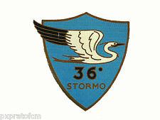 Patch 36° Stormo Regia Aeronautica Militare Bombardamento Terrestre Stampata