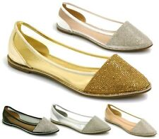Unbranded Ballerinas Synthetic Leather Flats for Women