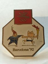 PIN'S BARCELONA 92 ESPAGNE JEUX  OCCASION