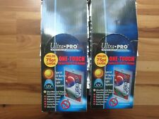 Lot of (38) ~ Ultra Pro 1 One Touch Magnetic Card Holders ~ 75pt New!
