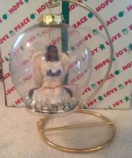 Peaceful Flight Black Angel Christmas Around The World House Of Lloyd Ornament