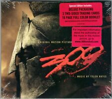 300 Tyler Bates OST Soundtrack CD Special Deluxe Ed Zack Snyder Three Hundred