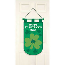 St Patricks Day Decorative Shamrock Felt Door Hanger Party Decoration