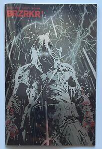 BRZRKR #1 2nd Print Foil Keanu Reeves | Near Mint+ 9.6 - 9.8 | Boom Studios 2021