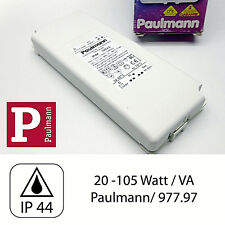 Paulmann Flachtrafo IP44 Transformator Trafo 977.97 Transfo 105 VA SELV OUTDOOR