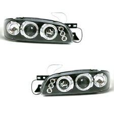 Subaru Impreza Mk1 Berline 1997-2000 Angel Eyes Phares Projecteurs noir intérieur