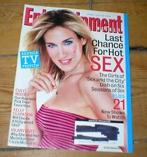 ENTERTAINMENT WEEKLY mag SARAH JESSICA PARKER Hilary Duff Kelly Clarkson Snoop