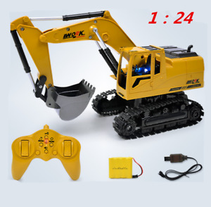 Remote Control Digger RC Battle Tank Kids Birthday Gift Toys RC TOY