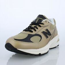 55df1476ce32 NEW Men New Balance ML498GB Gold Leather Running Walking Shoes Size 12 D