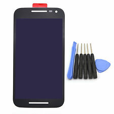 Black For Motorola Moto G 3rd XT1540 XT1541 LCD Display Touch Screen Digitizer
