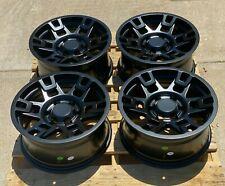 17x8 Matte Black Wheels Fits Toyota 4runner Tacoma Fj 17 Inch 6x139 15 Rims Set Fits Toyota