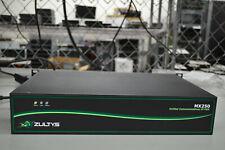 Zultys MX250 Unified Communications IP PBX P/N: 89-00250 w/ 250GB HDD & T1 / E1