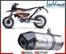 Full exhaust 1/1 Leovince LV ONE EVO INOX approved KTM 690 SMC R 2019 > 2020