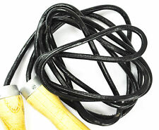 Skipping Rope Speed Rope GENUINE LEATHER For Professional Boxers MMA Fighters