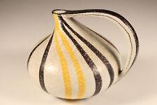 Ruscha Vase Krug Jug 313 Keramik Tschörner Handbemalt Seltenes Design ca.1960