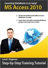 Learn Microsoft Office  Access 2010 and Excel 2010 Training Tutorial - 2 CD