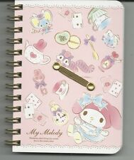Sanrio My Melody Spiral Notebook Hard Cover Tea Party