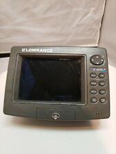 Lowrance X25A Fishfinder Sonar Head Unit
