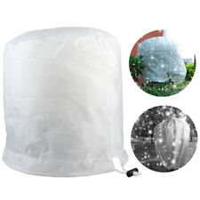 1PC Plant Freeze Protection Cover Plant Shrub Frost Jacket Cover with Drawstring