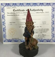 Puck-R 1986 Tom Clark Gnome Cairn Studios Item #1141 Ed #27 Free Shipping