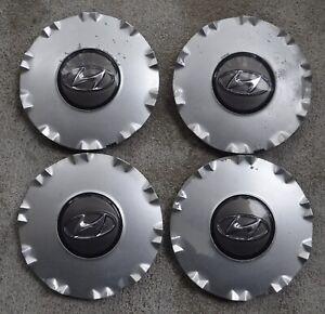 2002-2005 Hyundai Sonata Hubcaps Center Caps 52960-30310 Set of 4 OEM parts