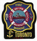 """*NEW* Toronto Marine Search - Rescue , Canada """"MacKenzie"""" (4"""" x 4.5"""") fire patch"""