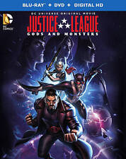 Justice League: Gods and Monsters (Blu-ray/Dvd, 2015, 2-Disc Set)
