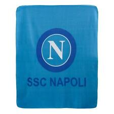Coperta plaid in pile SSC Napoli ufficiale invernale Singolo 130x160 cm Q199