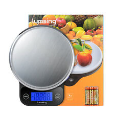 Lumsing Digital LCD Kitchen Food Diet Postal Scale Weight Balance 13.2lbs/6kg US
