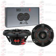 "MB QUART XK1-116 6.5"" 6.5-INCH 2-WAY CAR AUDIO COAXIAL SPEAKERS X-LINE SERIES"
