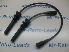BLACK 8MM PERFORMANCE IGNITION LEADS MG6 1.8i MGF MG TF 120 MG ZR ZS ZT 120 HT..