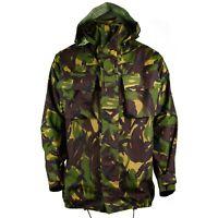 Genuine British army combat DPM jacket Woodland camo MVP goretex waterproof rain
