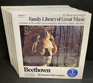Funk & Wagnalls Family Library of Great Music 22 Albums LP Classical M/NM     S4