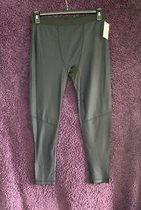 2(X)ist Men's Polyester & Spandex Black Full Length Track Bottoms Size L No 6844