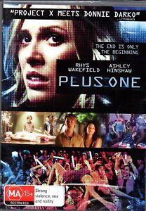 Plus One - New & Sealed Region 4 DVD - FREE POST.