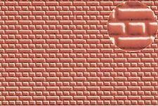 Slaters Embossed Plastikard NO.0399 1:72 Brick red