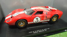 FORD GT 40 MKII LE MANS 1966 #3 rouge o 1/18 UNIVERSAL HOBBIES voiture miniature