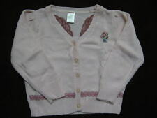 "Gymboree ""La Belle Epoque"" Pink Sweater, Size 4"
