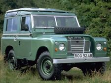 LAND ROVER SERIES-III '88' 1,000,000th RETRO POSTER BROCHURE CLASSIC ADVERT A3