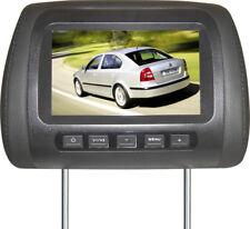 "17,8 cm LCD TFT 7"" MONITOR AUTO BILDSCHIRM KOPSTÜTZEN Display Zoll Schwarz"