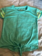 Excellent Girls Tie Front Tee Shirt Size 12 Sonoma