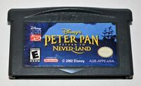 DISNEY'S PETER PAN: RETURN TO NEVER LAND NINTENDO GAMEBOY ADVANCE GBA SP