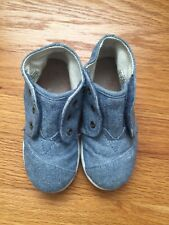 Toms Baby Boy Shoes Size 8 Chambray