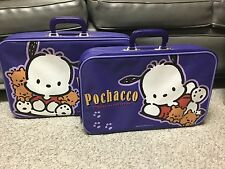 Used Once - Pochacco Sanrio 2001 Suitcase Lot Of 2