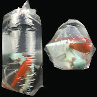 10/20/50PC Aquarium Breathing Bags Breather Bags Transport LongLife Fish Shrimp