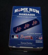Atlanta Braves Baseball Bandages 20 Count Home Run Brands